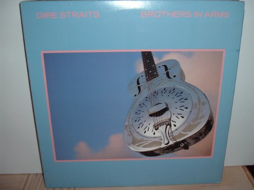 Set of 3 Dire Straits vinyl LPs - Brothers In Arms, Dire Straits, and Love Over Gold