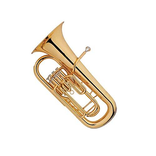 Funion Euphonium B Flat 4 Key Brass Instrument With Case FUEU-142