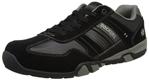 Baskets Gerli Hommes Par Noir 204 Fonc noir Gris 38mi013 Des Dockers q7FwxOHn
