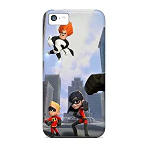 Shock Absorption Hard Cell-phone Case For Iphone 5c With Customized Stylish Big Hero 6 Skin PhilHolmes