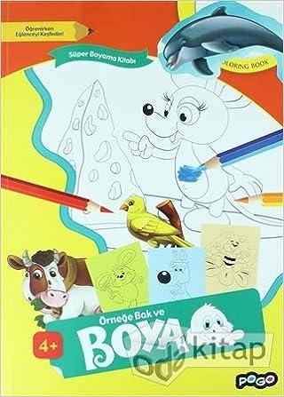 Super Boyama Kitabi 1 Ornege Bak Ve Boya 9786052355534