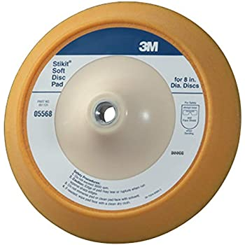 3M Stikit Soft Disc Pad, 05568, 8 in