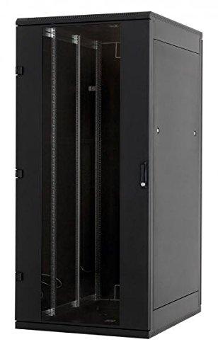 TRITON 19´ Netzwerkschrank RMA, mit Glastür, 42 HE, schwarz