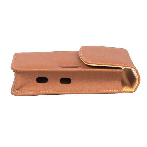 Atout Premium Vintage Synthetic Leather Cover Case [Brown] for LG PD239 Pocket Photo Printer Case Photo #4