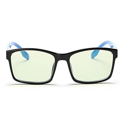 Fatiga Mujer Gafas Clásico Retro Moda Claro Azul ojos Anti luz Hombre los Previniendo UV400 Xinvision Lente Computadora Eyewear Anti azul zw467qE