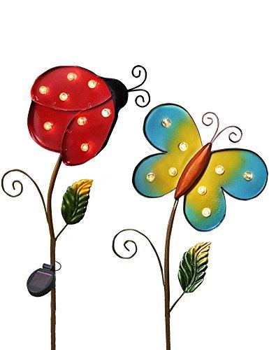 BRIGHT Garden Multicolor Butterfly Ladybug