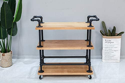 home, kitchen, furniture, game, recreation room furniture, home bar furniture,  bar, serving carts 5 picture WGX Design For You Industrial 3 Tiers Rolling deals