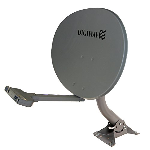 Homevision Technology Satellite Dish Digiwave 24 Inch Elliptical Satellite Dish, Gray (DWD55TE) by Homevision Technology