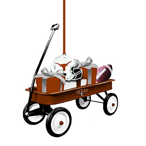 Texas Longhorns Ornaments - Team Sports America Texas Team Wagon Ornament