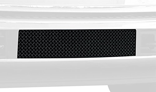 TRex Grilles 52563 Upper Class Large Mesh Steel Black Finish Bumper Grille Bolt-on for Ford Super Duty