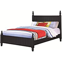 Coaster 400691T-CO Zachary Twin Poster Bed, Navy Blue