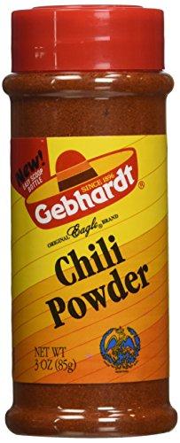 Gebhardt CHILI POWDER 3oz (3 Pack) by Gebhardt