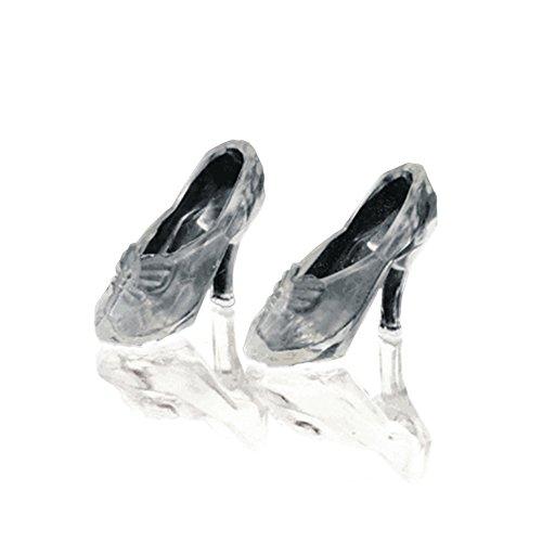 12Pairs Fashion Cute Princess Barbie Dolls High Heel Dress Pumps Fairy Tales Shoes