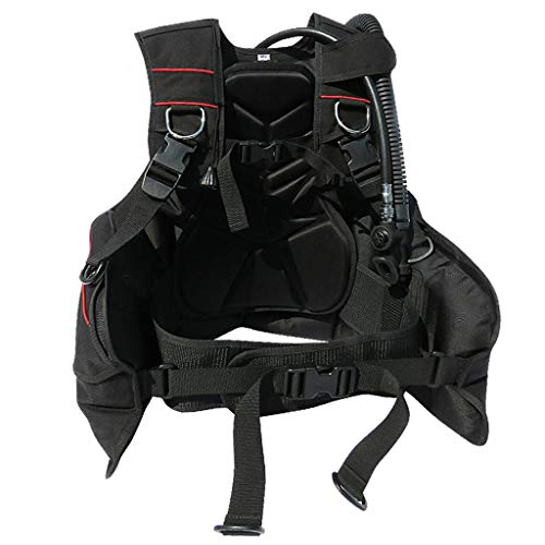 Travel Buoyancy Compensator - DYNWAVE Premium Scuba Diving BCD - Profesional & Heavy Duty - Jacket Style Travel Dive Buoyancy Compensator Scuba BC Safety Gear - M