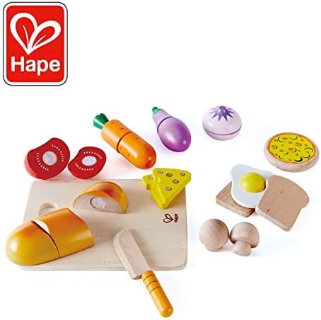 Hape Chef's Choice Wooden Play Food Basics Set