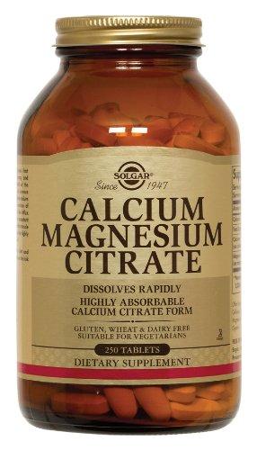 Solgar Calcium Magnésium citrate Comprimés à 250