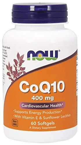 400mg CoQ10 Dietary Supplement 60 Softgels