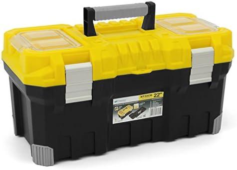 Caja de herramientas TITAN 55,88 cm con mango de plástico y ...