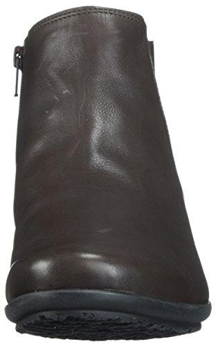 Bootie Women's Floreta Brown Ankle Silk Mephisto Dark 8wPtP