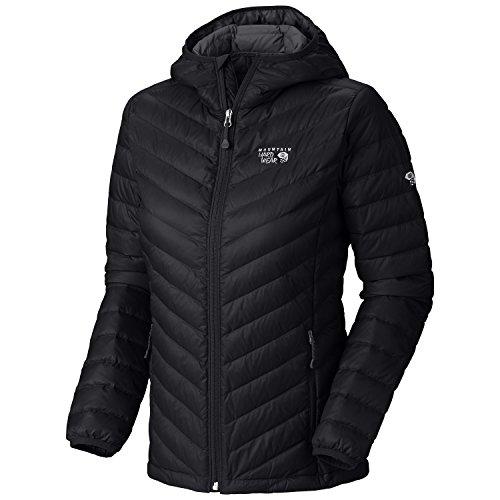 Ripstop Hooded Down Jacket (Mountain Hardwear Nitrous Hooded Down Jacket - Women's Black)