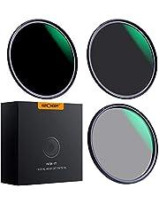 K&F Concept 49MM 18-Layer MRC Super Slim CPL Filter Circular Polarizer Filter + ND8 ND64 Filter Neutral Density Filter
