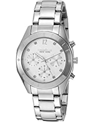 Caravelle New York Womens Quartz Stainless Steel Dress Watch (Model: 43L190)