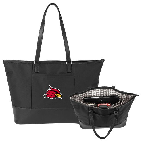 Wheeling Jesuit Stella Black Computer Tote 'Primary Mark' by CollegeFanGear