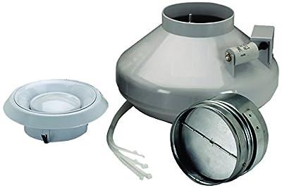 NuTone 4 Inch Inline Fan/Grille Kit, 120 CFM