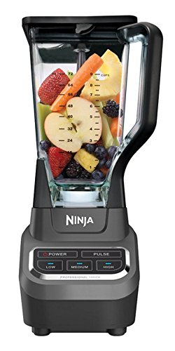 Ninja Professional Blender with Total Crushing Technology 1000 Watt high-powered - BL610 (Renewed)