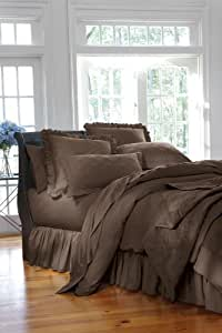 Home Decorators Collection Hotel Solid Duvet King Ovrsz Mngr Pinecone Path Home