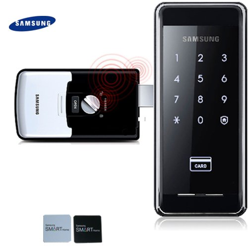2pcs of Sticky Key Tags + SAMSUNG SHS-2920 digital door lock keyless touchpad security EZON
