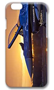Army Military Aircraft Sunrise Thanksgiving Easter Masterpiece Limited Design PC Black 3D Case for iphone 6 pluse by Cases & Mousepads
