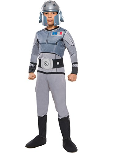 Comic Con Costumes For Kids (Rubie's Costume Star Wars Rebels Agent Kallus Child Costume, Large)