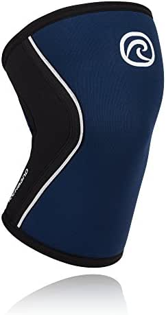 Rehband Rx Knee Support 5mm - Expand Your Movement + Cross Training Potential - Knee Sleeve for Fitness - Feel Stronger + More Secure - Relieve Strain - 1 Sleeve