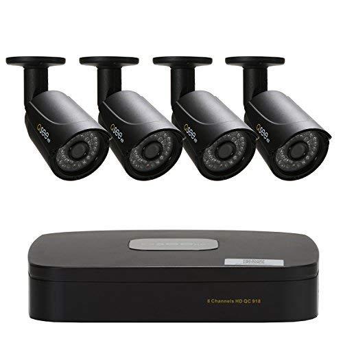 2019年最新入荷 Q-See Housing 8-CH 1080P Analog HD DVR (QC8-4DW) B07H5HHX81 4-720P BNC Plastic Housing Bullet Cameras No Hard Drive Included (QC8-4DW) [並行輸入品] B07H5HHX81, DIY専科:b07f9e7b --- arianechie.dominiotemporario.com
