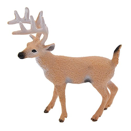 NUMBERNINE,1 Pc Deer Figure Christmas Doll White-tailed Reindeer Home Party Decoration Xmas,LED Xmas (Male Deer) (Cc 700 For Bicycle Men)