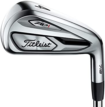 Titleist 718 AP1 Iron Set 4-PW GW True Temper AMT Red R300 Steel Regular Right Handed 38 in