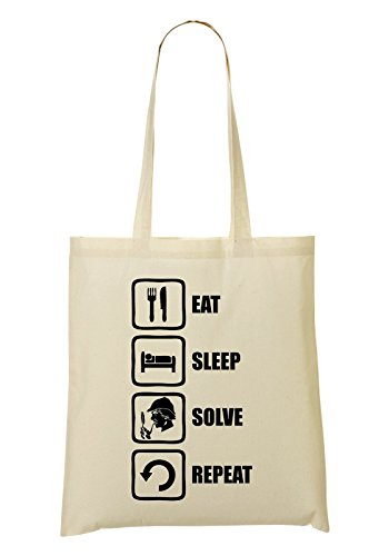 Sleep à provisions Sac tout Eat Fourre Sac Repeat Inspired LukeTee Solve Sherlock APFx7