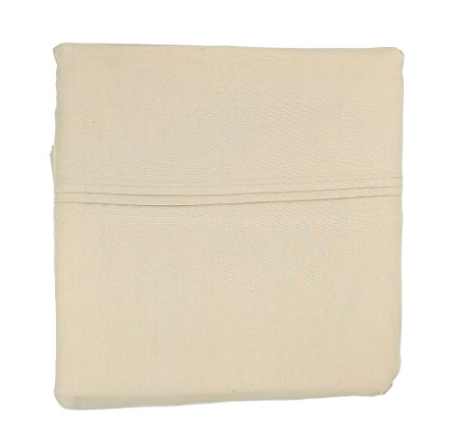 CANNON 4 Piece 100% Cotton Percale Super Soft King Sheet Set (Oxford Tan, King) (Sheets Cannon)