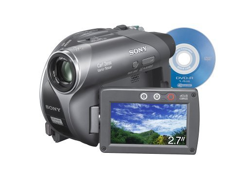 (Sony DCR-DVD205 1MP DVD Handycam Camcorder with 12x Optical Zoom (Discontinued by Manufacturer) (Certified Refurbished))
