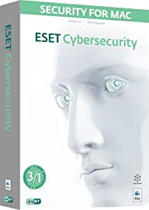 ESET Cybersecurity, 3 User, 1 Year Licence (Mac)