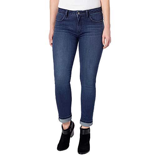 - Calvin Klein Jeans Women's Slim Boyfriend Jean, Tony Blue, 10