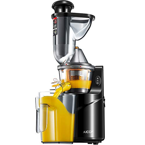 Juicer Masticating Slow Juicer, Aicok 3'' Whole Juicer for sale  Delivered anywhere in USA