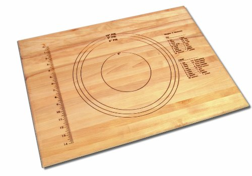 Grande Epicure M6025103 18-Inch by 24-Inch by 3/4-Inch Embossed Pastry Board