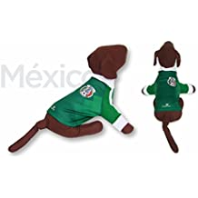 Dog Factor Mexico DOG T-Shirt Worldcup Shirt camisetas para perros selecciones futbol soccer (
