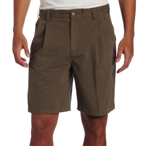 Geoffrey Beene Men's Double Pleat Extender Short