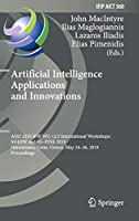Artificial Intelligence Applications and Innovations Front Cover