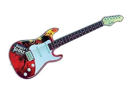 Paper JAMZ guitarra, rojo incluye{3} canciones de rock, a partir de