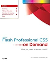 Adobe Flash Professional CS5 on Demand Front Cover