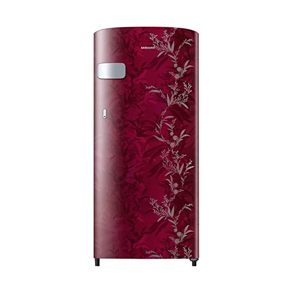 Samsung 192 L 2 Star Direct-Cool Single Door Refrigerator (RR19T2Z2B6R/NL, Mystic Overlay Red) 2021 August Direct-cool refrigerator : Economical and Cooling without fluctuation Capacity 192 liters: Suitable for families with 2 to 3 members and bachelors Energy rating 2 Star